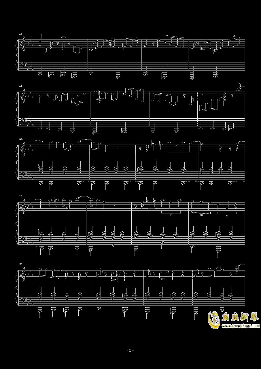 Lullaby of Birdland钢琴谱 第3页