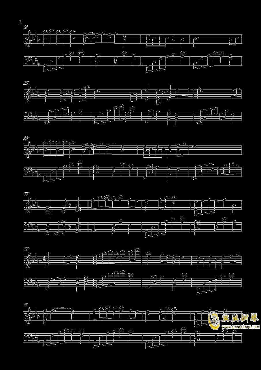 轻轻地告诉你钢琴谱 第2页