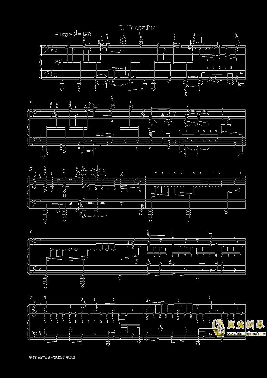 尼古拉斯凯帕斯汀 八首音乐会练习曲 Eight Concert 钢琴谱 第1页
