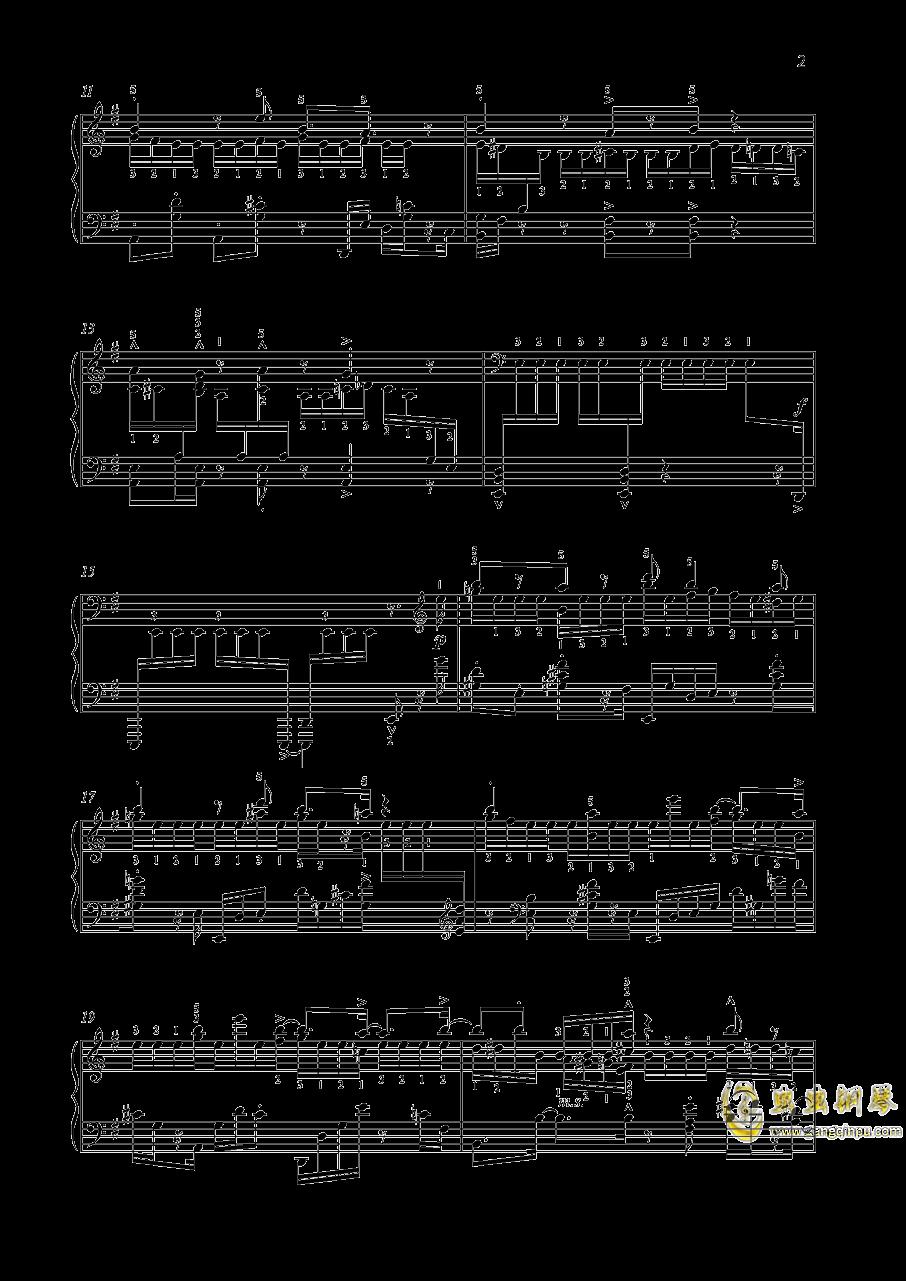 尼古拉斯凯帕斯汀 八首音乐会练习曲 Eight Concert 钢琴谱 第2页