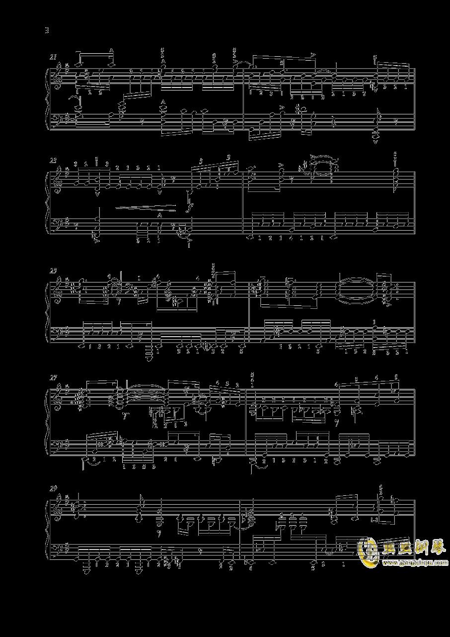 尼古拉斯凯帕斯汀 八首音乐会练习曲 Eight Concert 钢琴谱 第3页