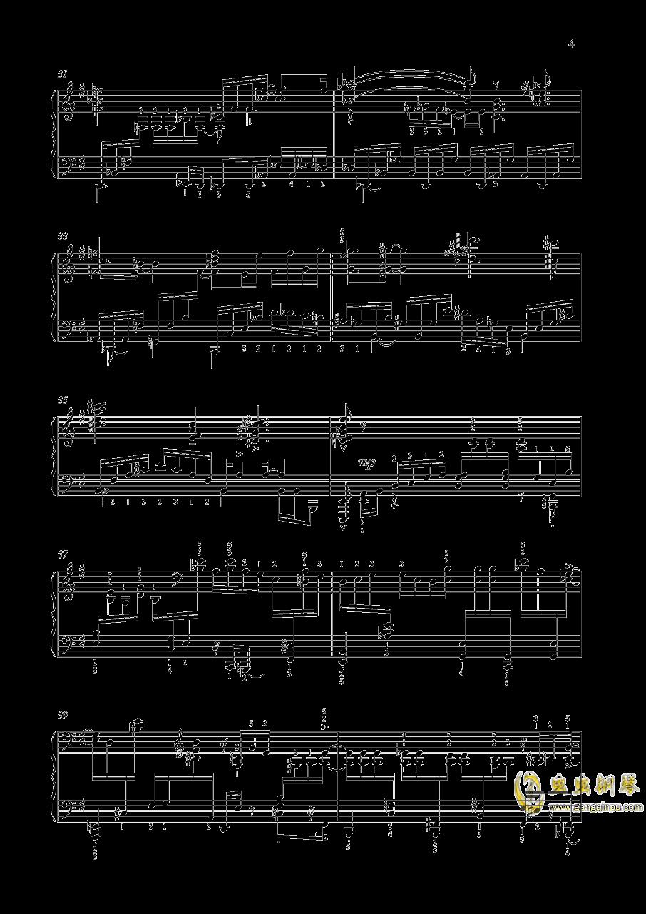 尼古拉斯凯帕斯汀 八首音乐会练习曲 Eight Concert 钢琴谱 第4页
