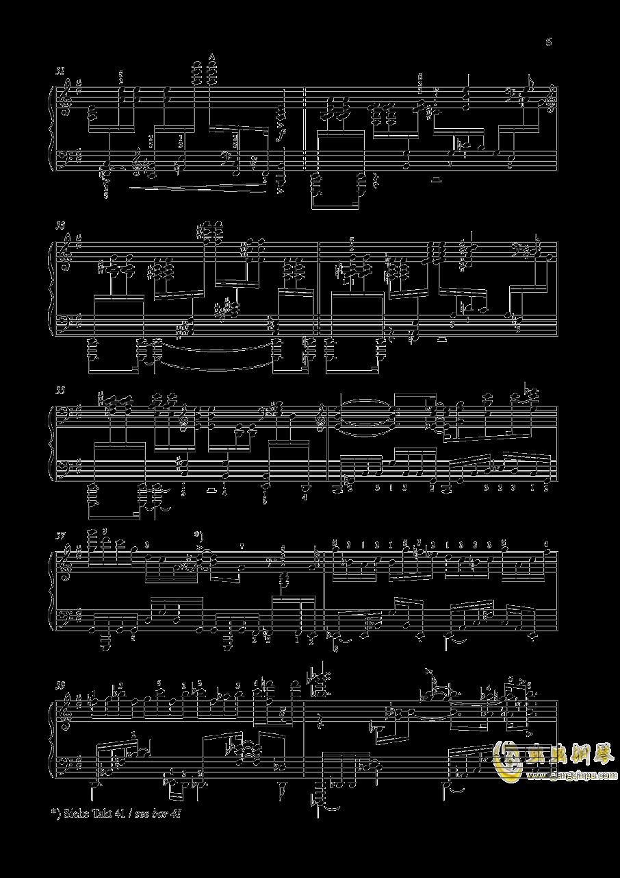 尼古拉斯凯帕斯汀 八首音乐会练习曲 Eight Concert 钢琴谱 第6页