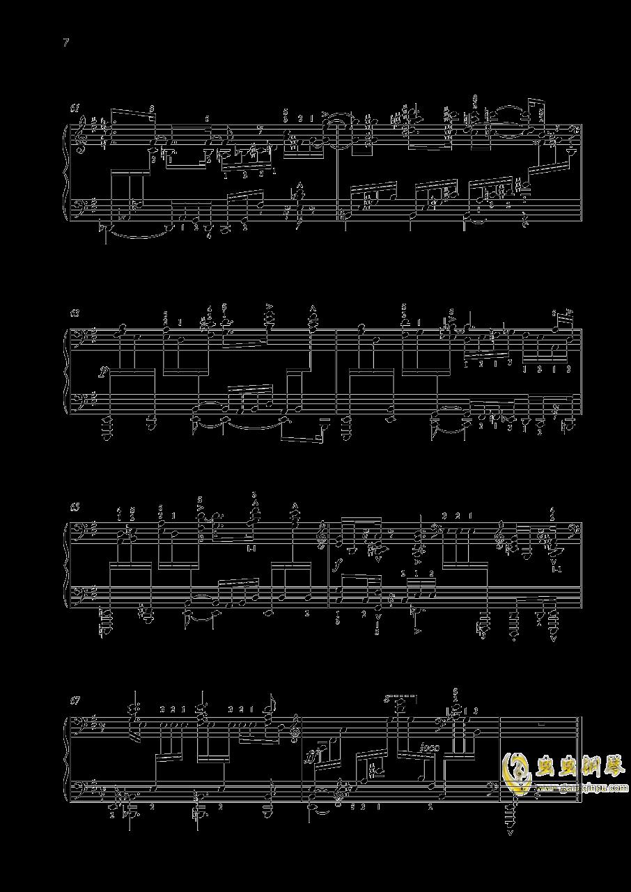 尼古拉斯凯帕斯汀 八首音乐会练习曲 Eight Concert 钢琴谱 第7页