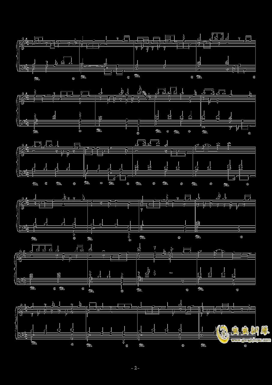 眷恋的少年钢琴谱 第2页
