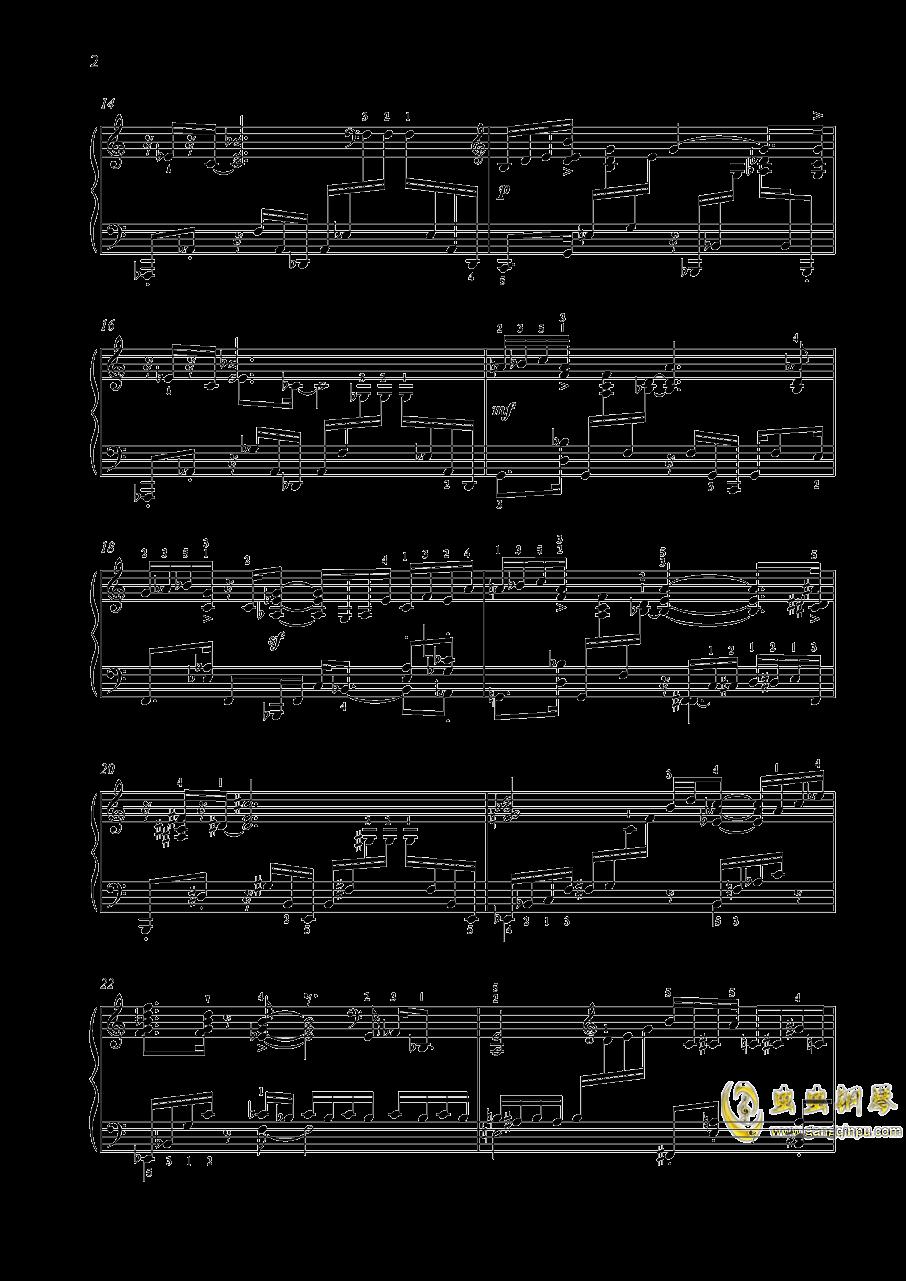 【爵士】【带指法】尼古拉斯凯帕斯汀 八首音乐会练习曲 Eight Concert 澳门星际官网 第2页
