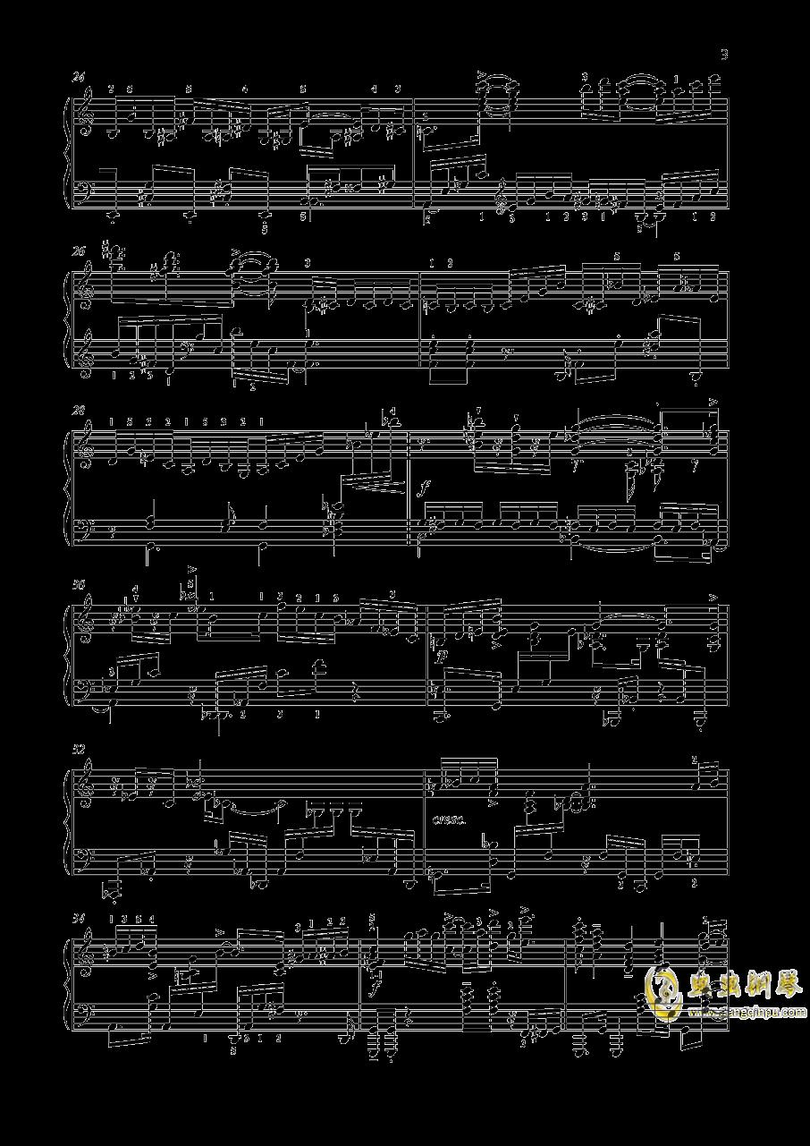 【爵士】【带指法】尼古拉斯凯帕斯汀 八首音乐会练习曲 Eight Concert 澳门星际官网 第3页