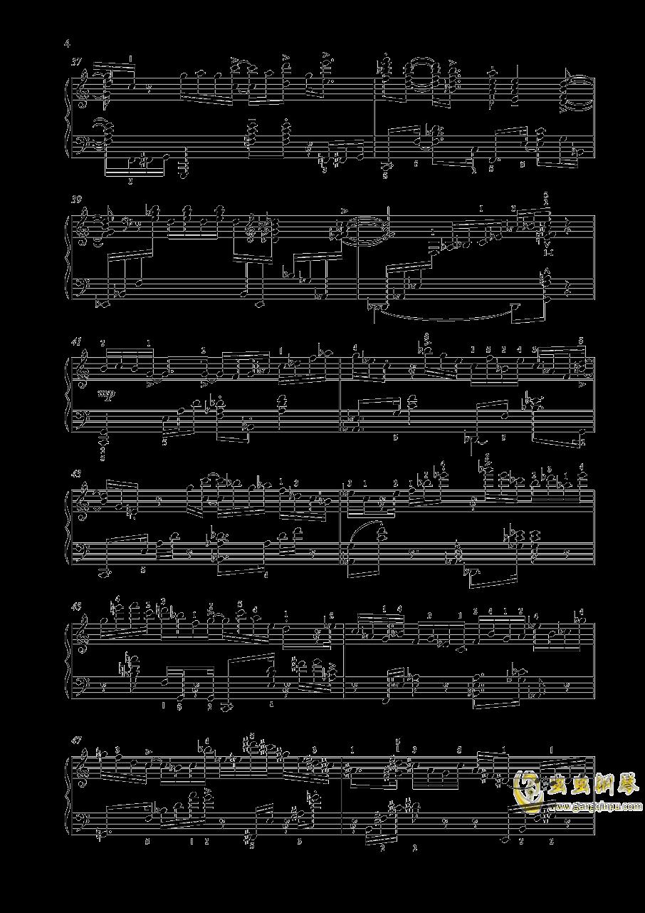 【爵士】【带指法】尼古拉斯凯帕斯汀 八首音乐会练习曲 Eight Concert 澳门星际官网 第4页