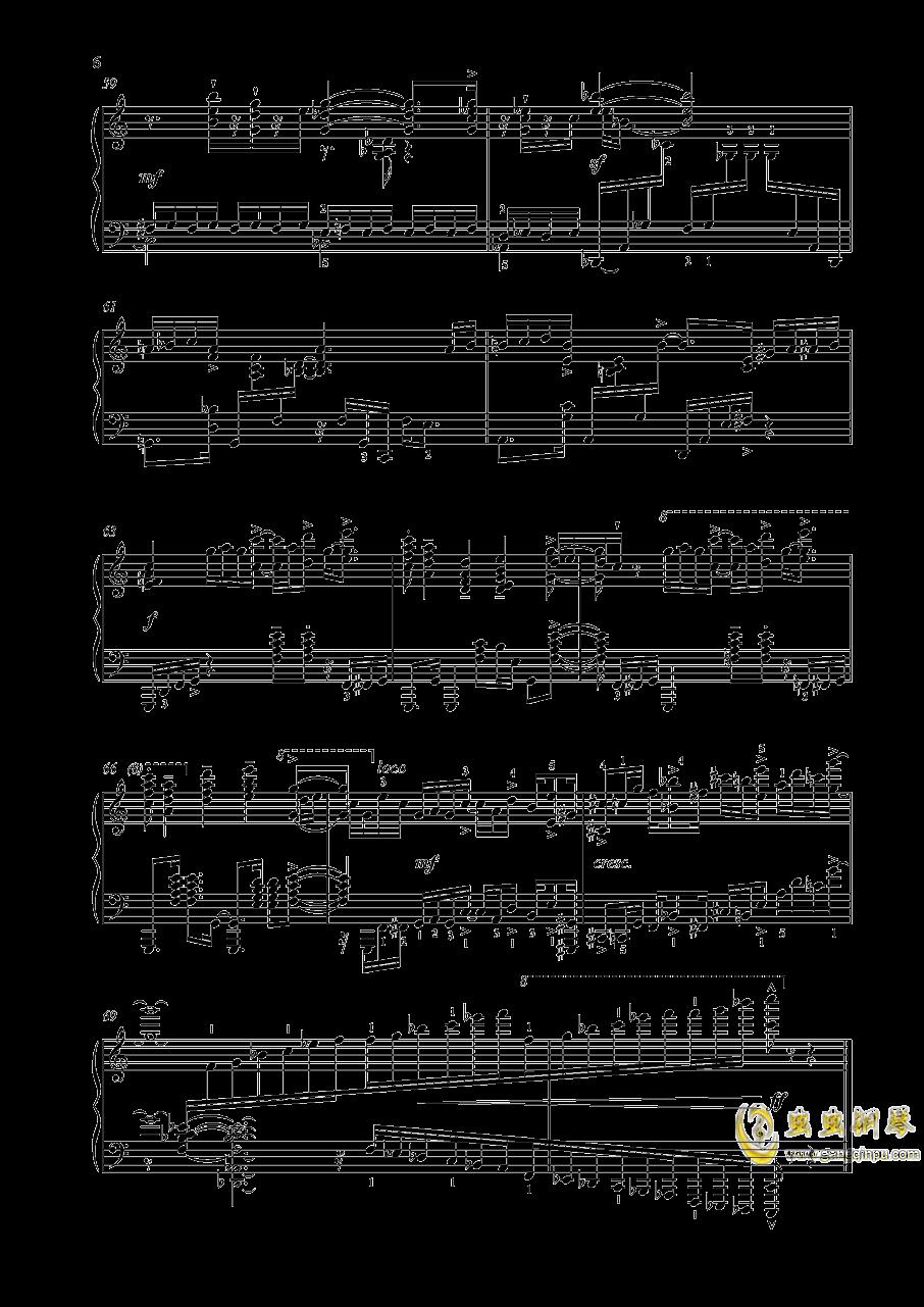 【爵士】【带指法】尼古拉斯凯帕斯汀 八首音乐会练习曲 Eight Concert 澳门星际官网 第6页