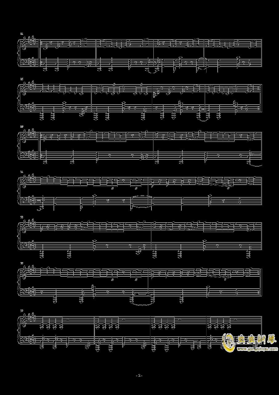 【十二罗汉】Thé à la Menthe钢琴谱 第2页