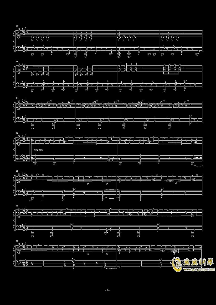 【十二罗汉】Thé à la Menthe钢琴谱 第3页