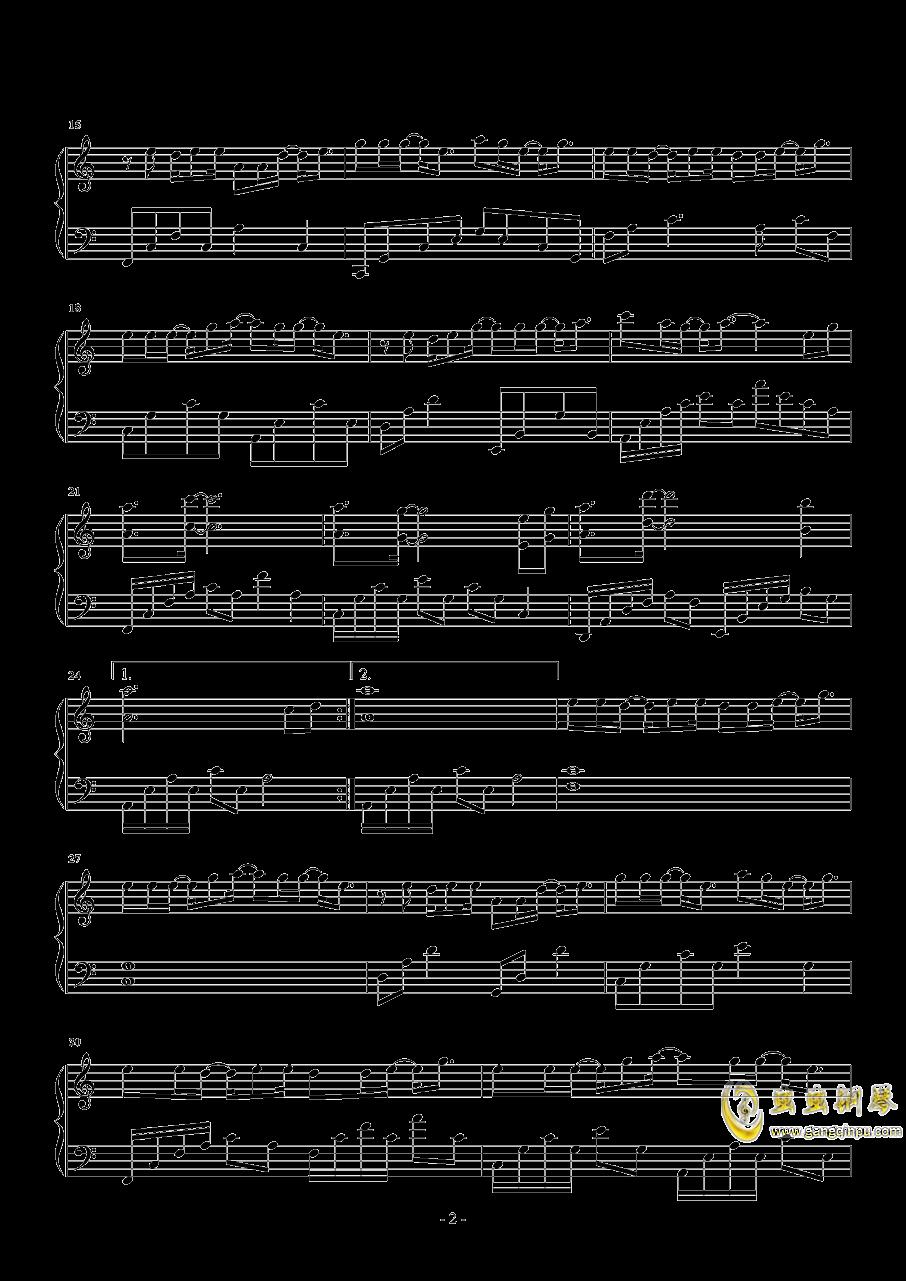 扶摇钢琴谱 第2页