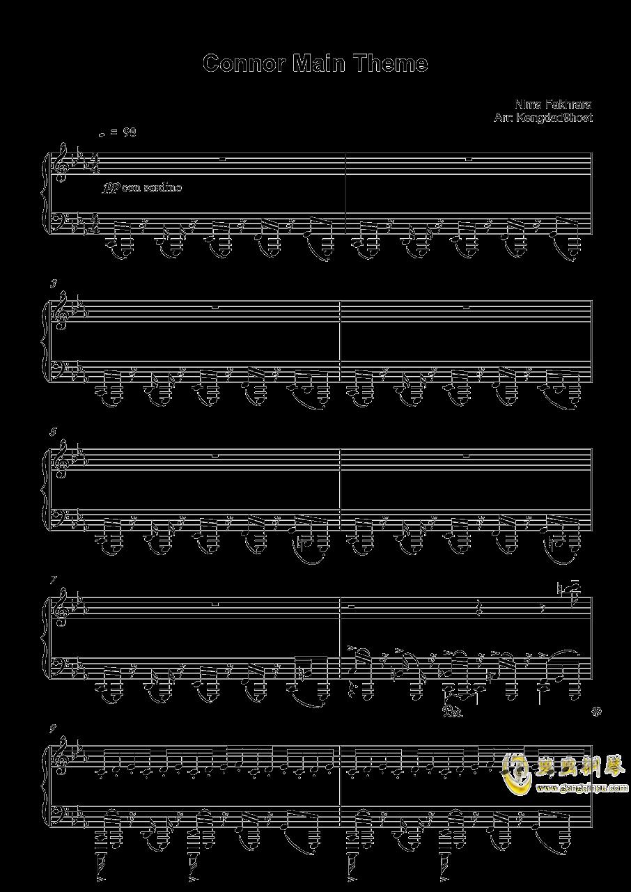 底特律:成为人类 康纳主题曲钢琴谱 第1页