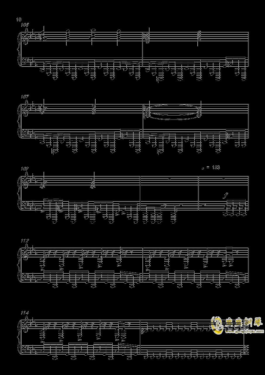 底特律:成为人类 康纳主题曲钢琴谱 第10页
