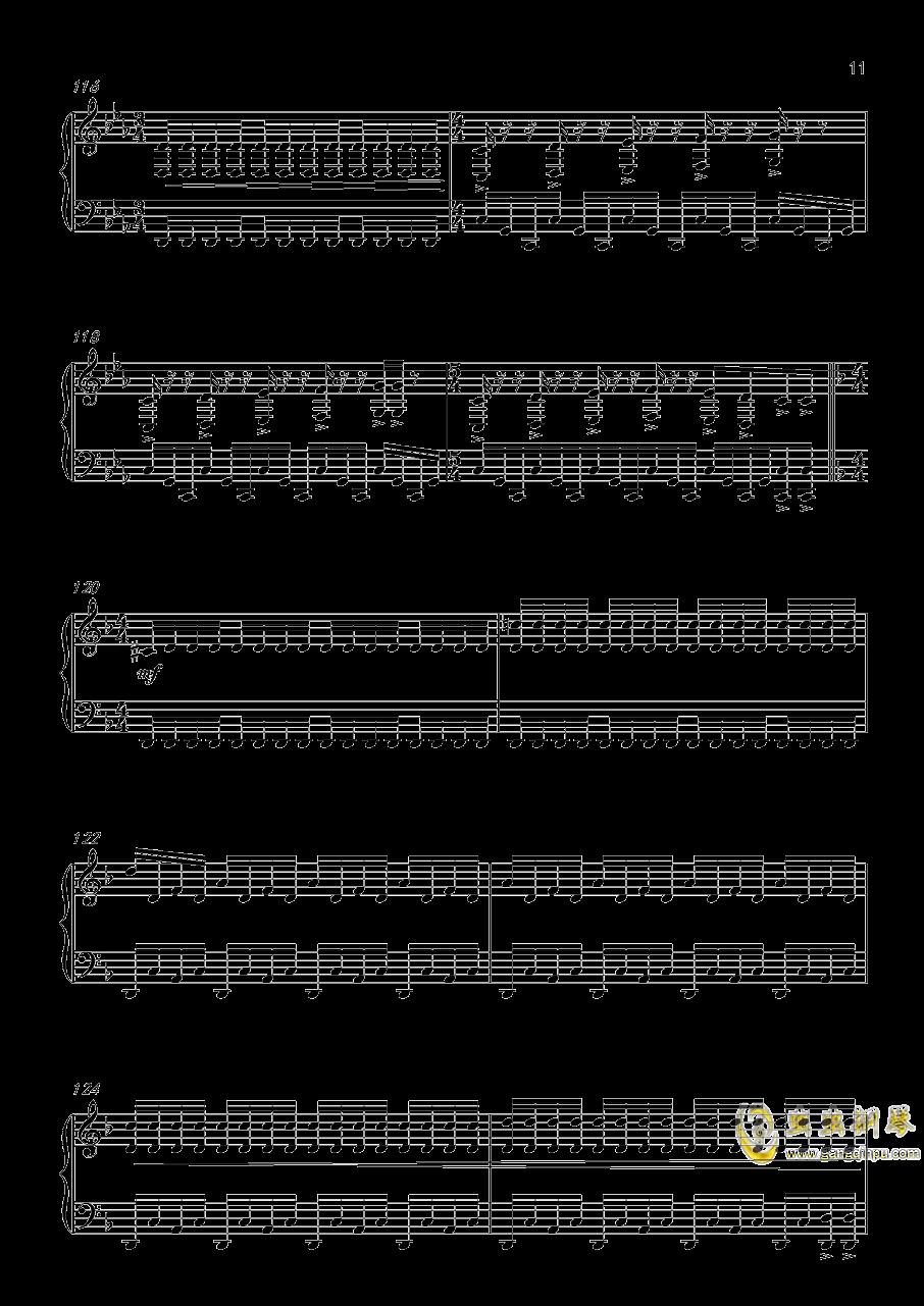 底特律:成为人类 康纳主题曲钢琴谱 第11页