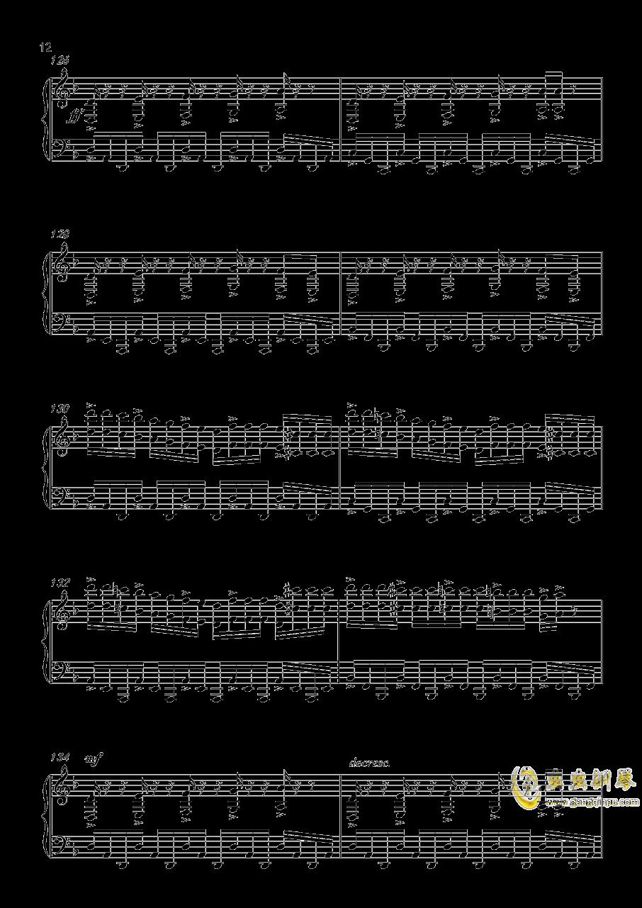 底特律:成为人类 康纳主题曲钢琴谱 第12页