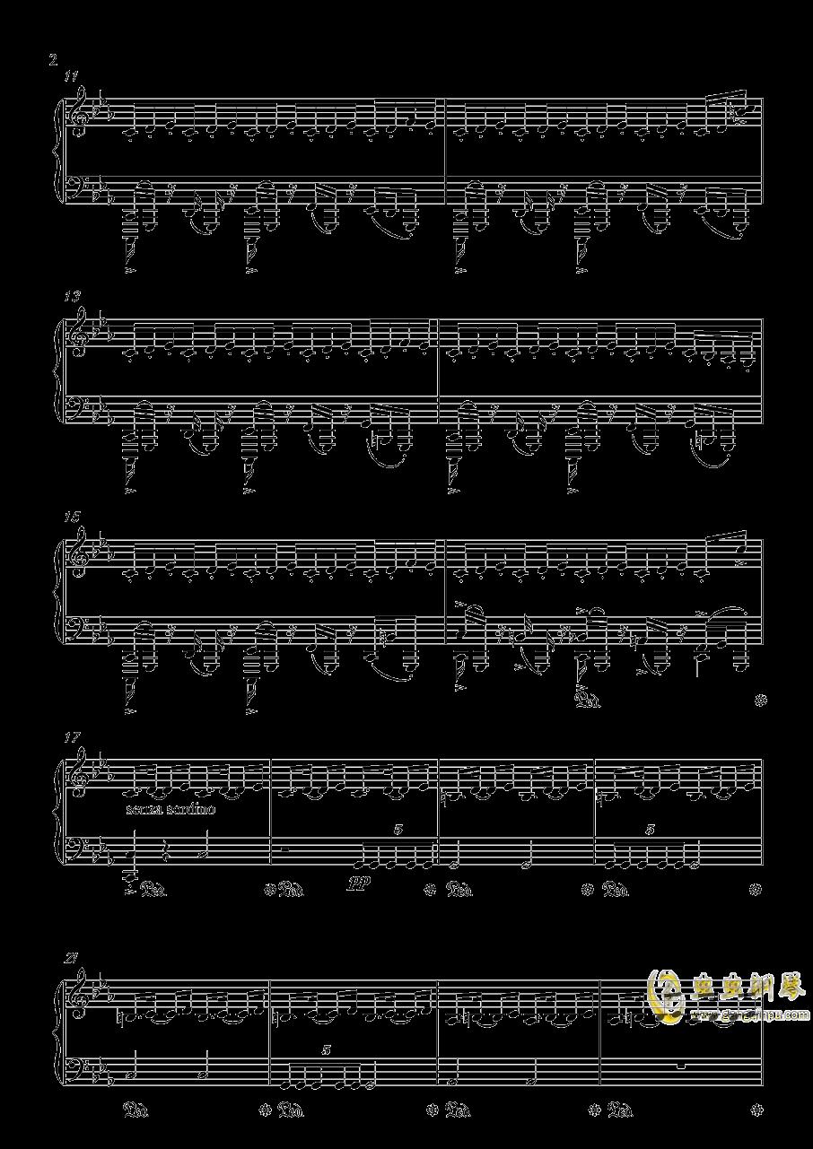 底特律:成为人类 康纳主题曲钢琴谱 第2页