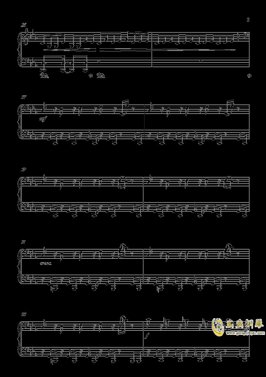底特律:成为人类 康纳主题曲钢琴谱 第3页