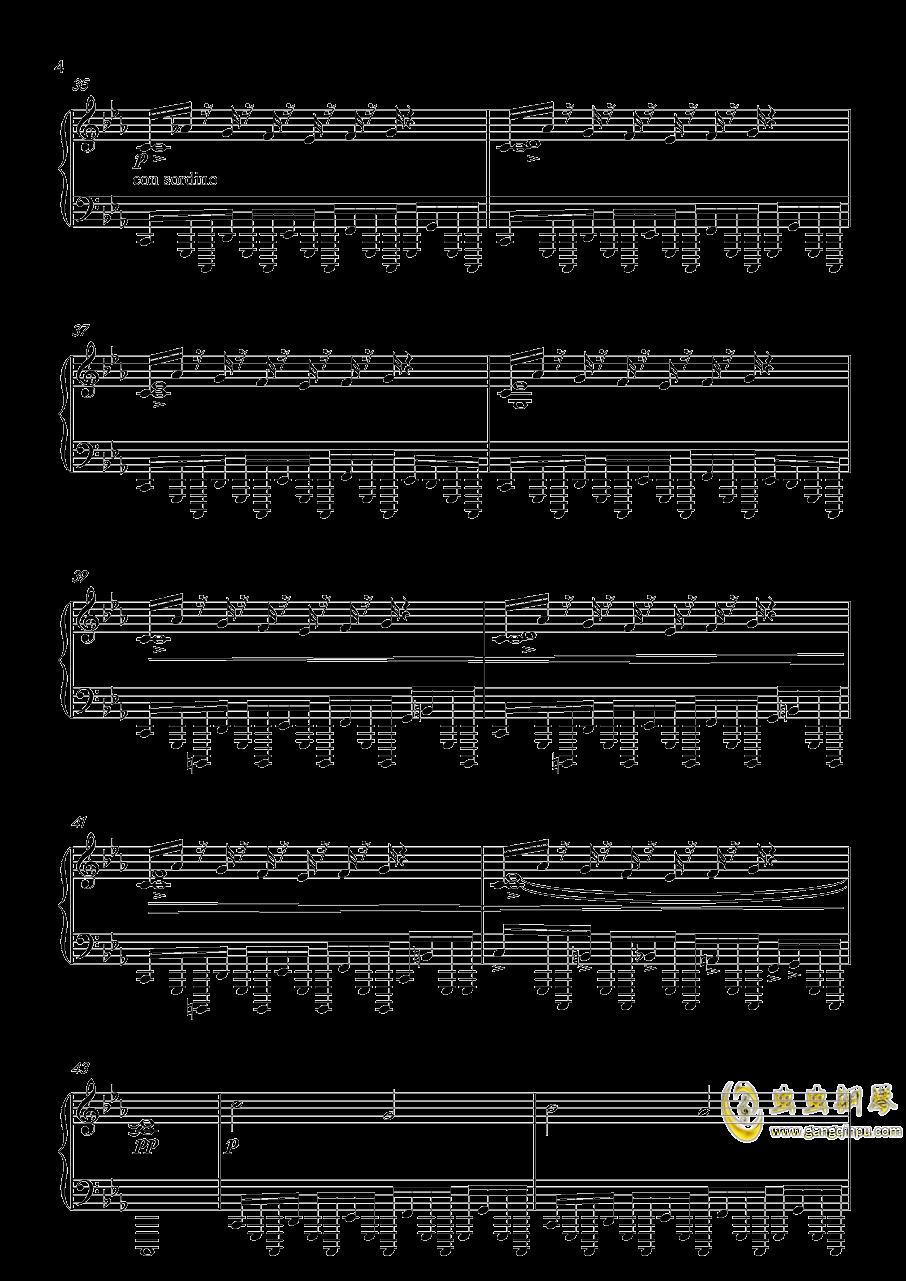 底特律:成为人类 康纳主题曲钢琴谱 第4页