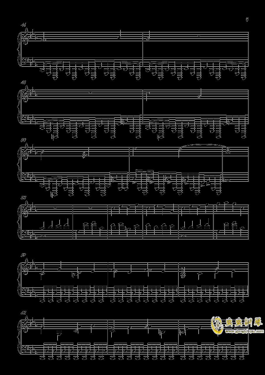 底特律:成为人类 康纳主题曲钢琴谱 第5页
