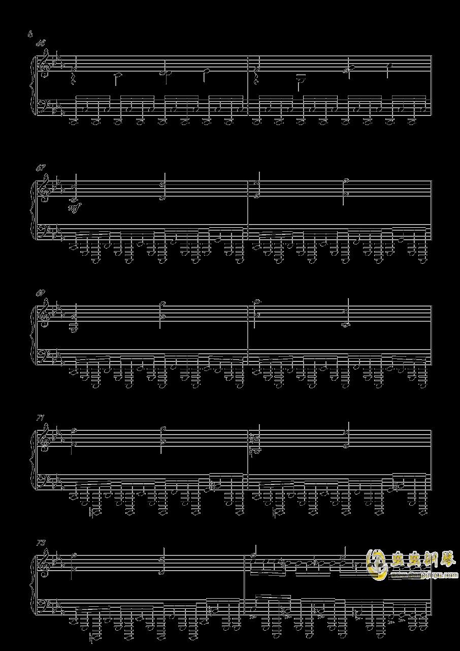 底特律:成为人类 康纳主题曲钢琴谱 第6页