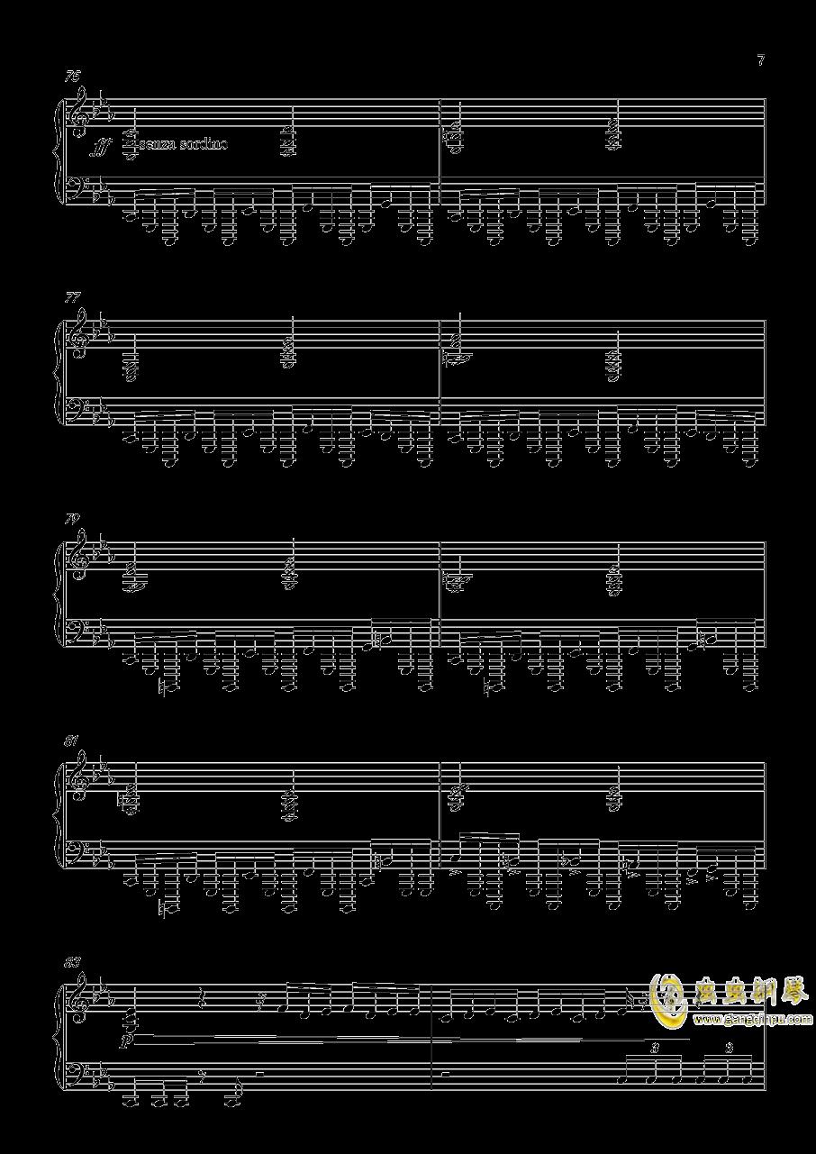 底特律:成为人类 康纳主题曲钢琴谱 第7页