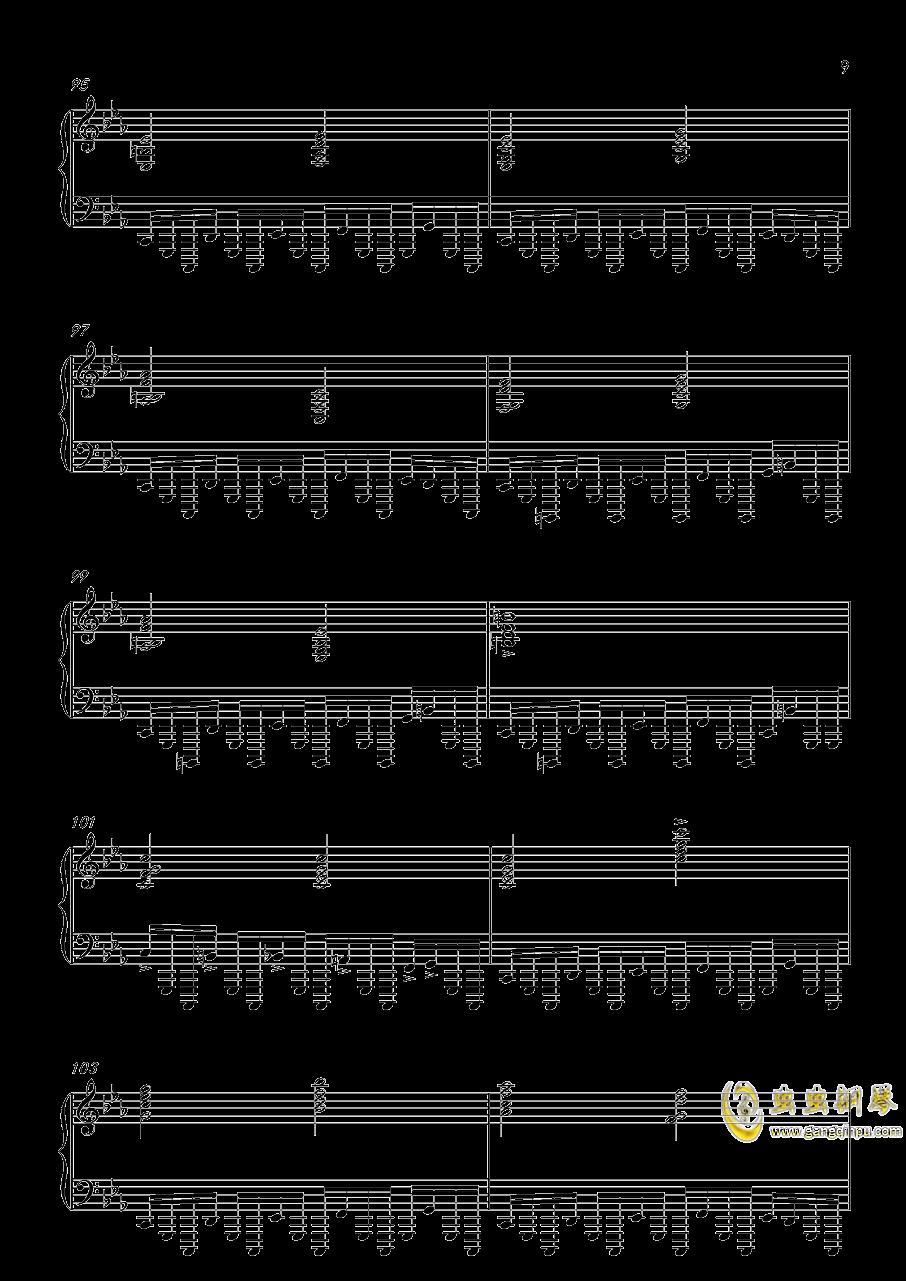 底特律:成为人类 康纳主题曲钢琴谱 第9页