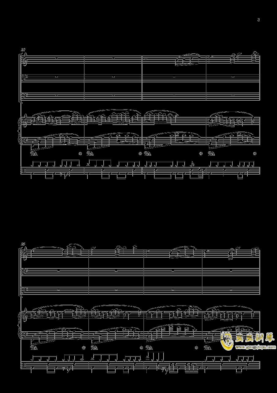 沐雨单言钢琴谱 第3页