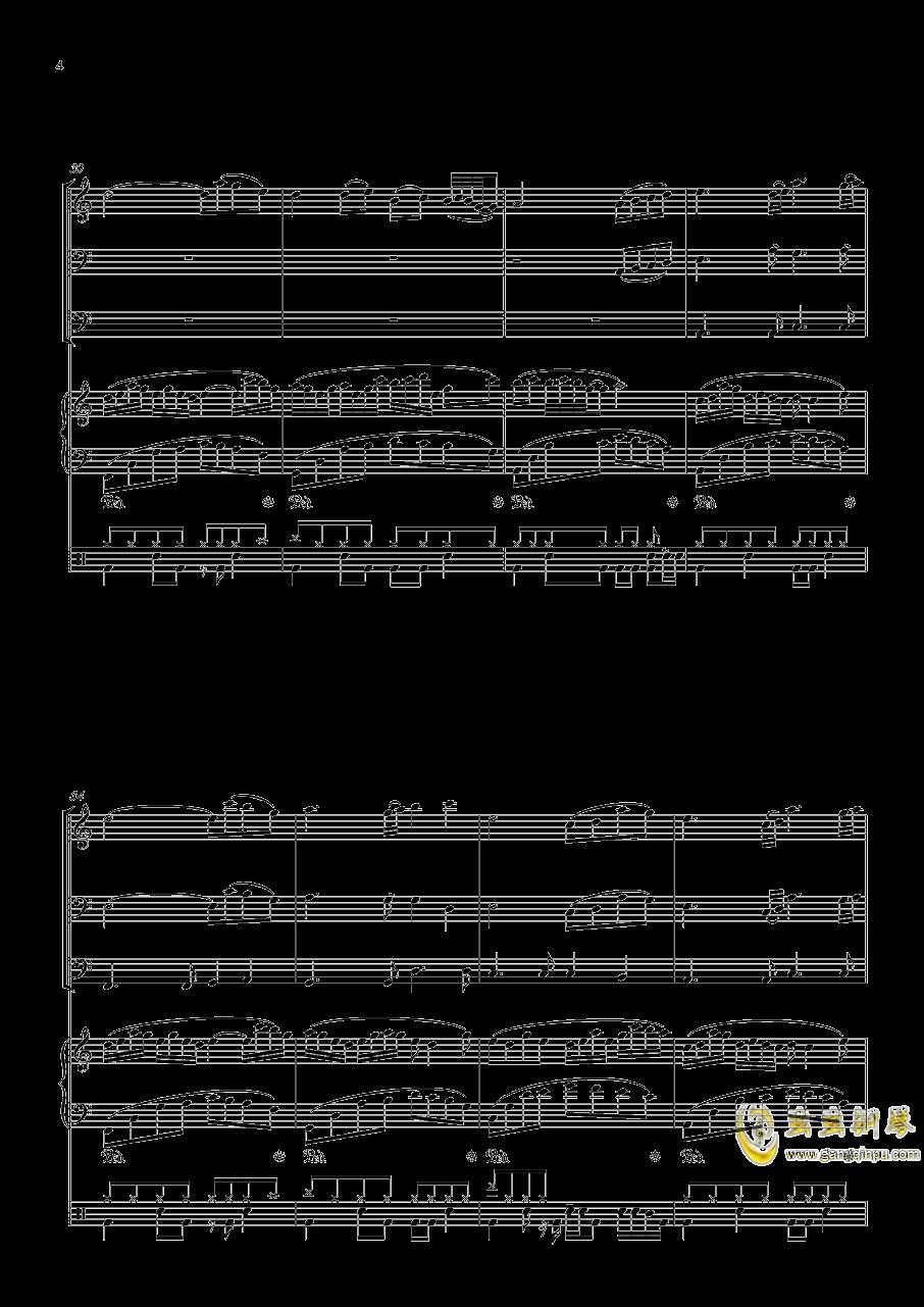 沐雨单言钢琴谱 第4页