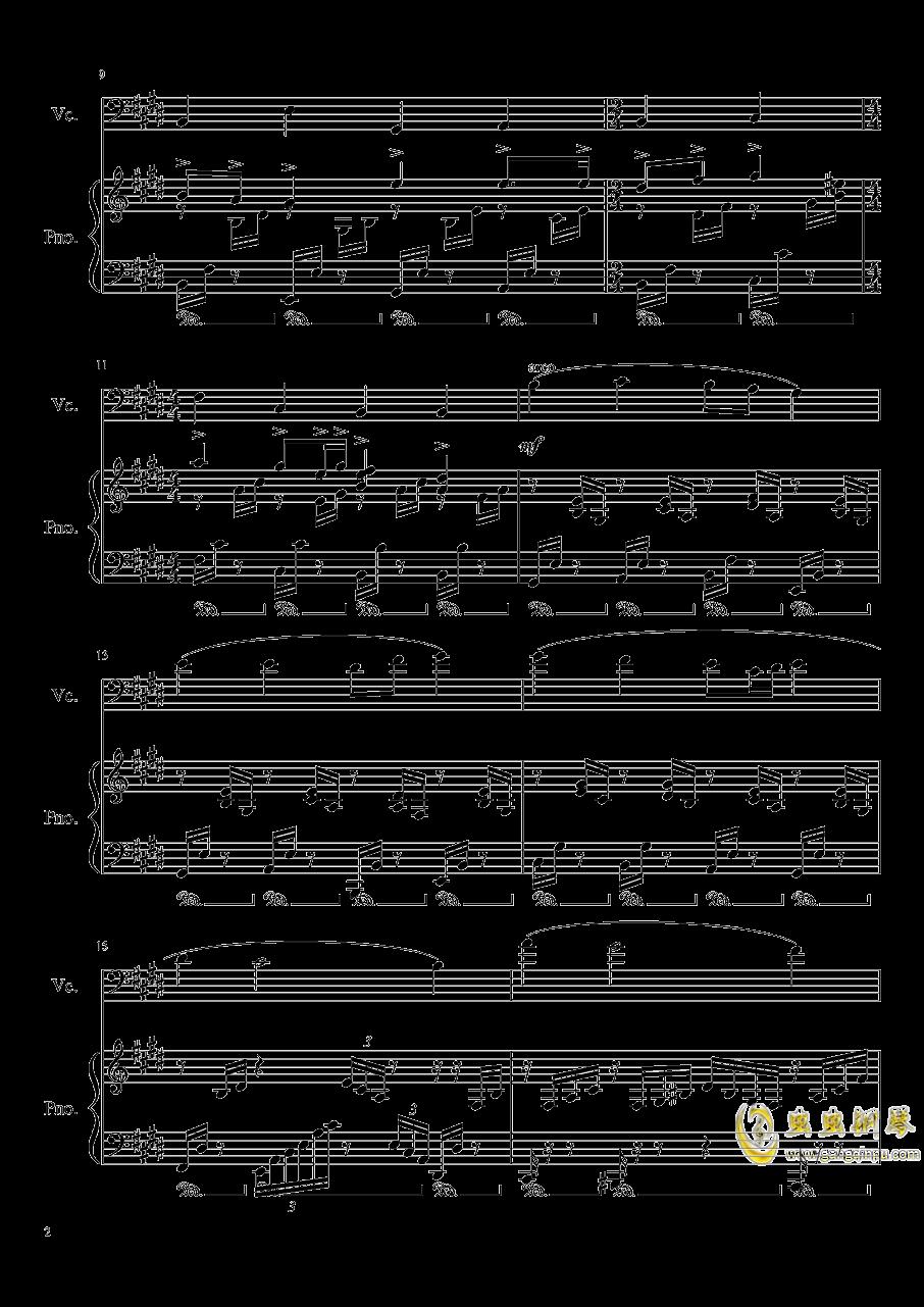 夏日随想曲钢琴谱 第2页