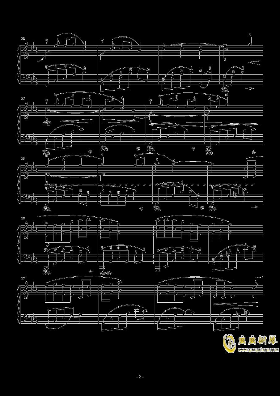 小小钢琴谱 第2页