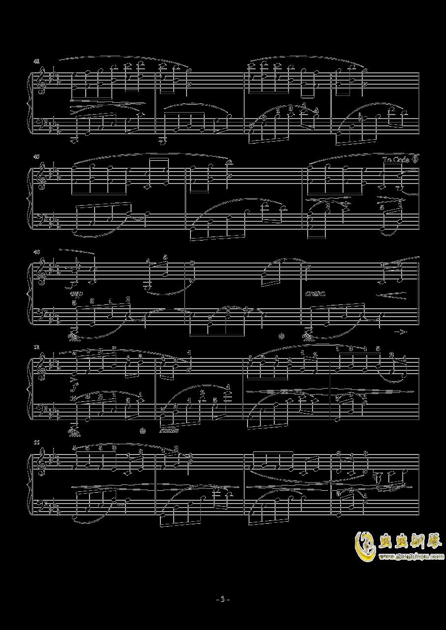 小小钢琴谱 第3页