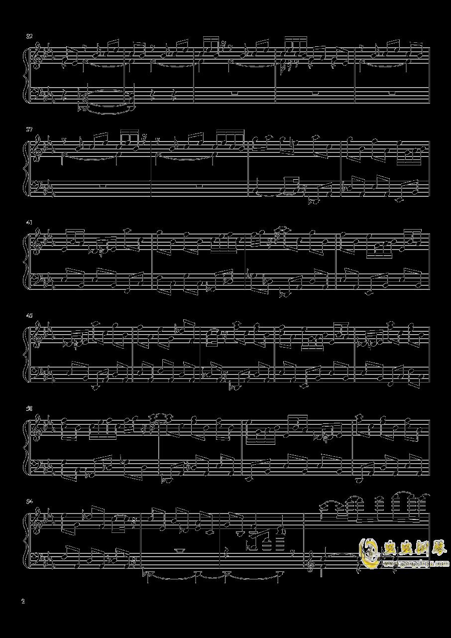 永夜变奏曲钢琴谱 第2页