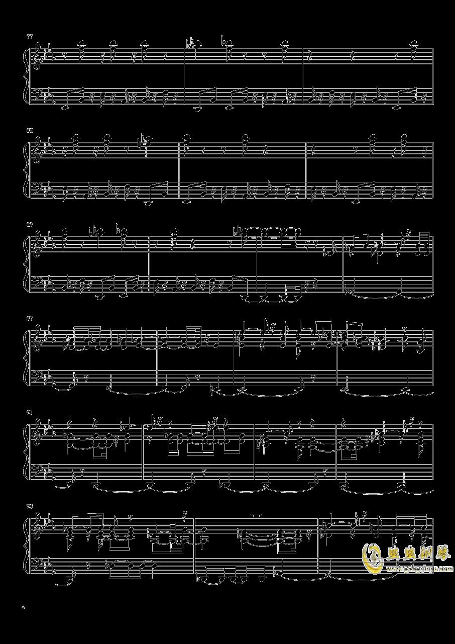 永夜变奏曲钢琴谱 第4页