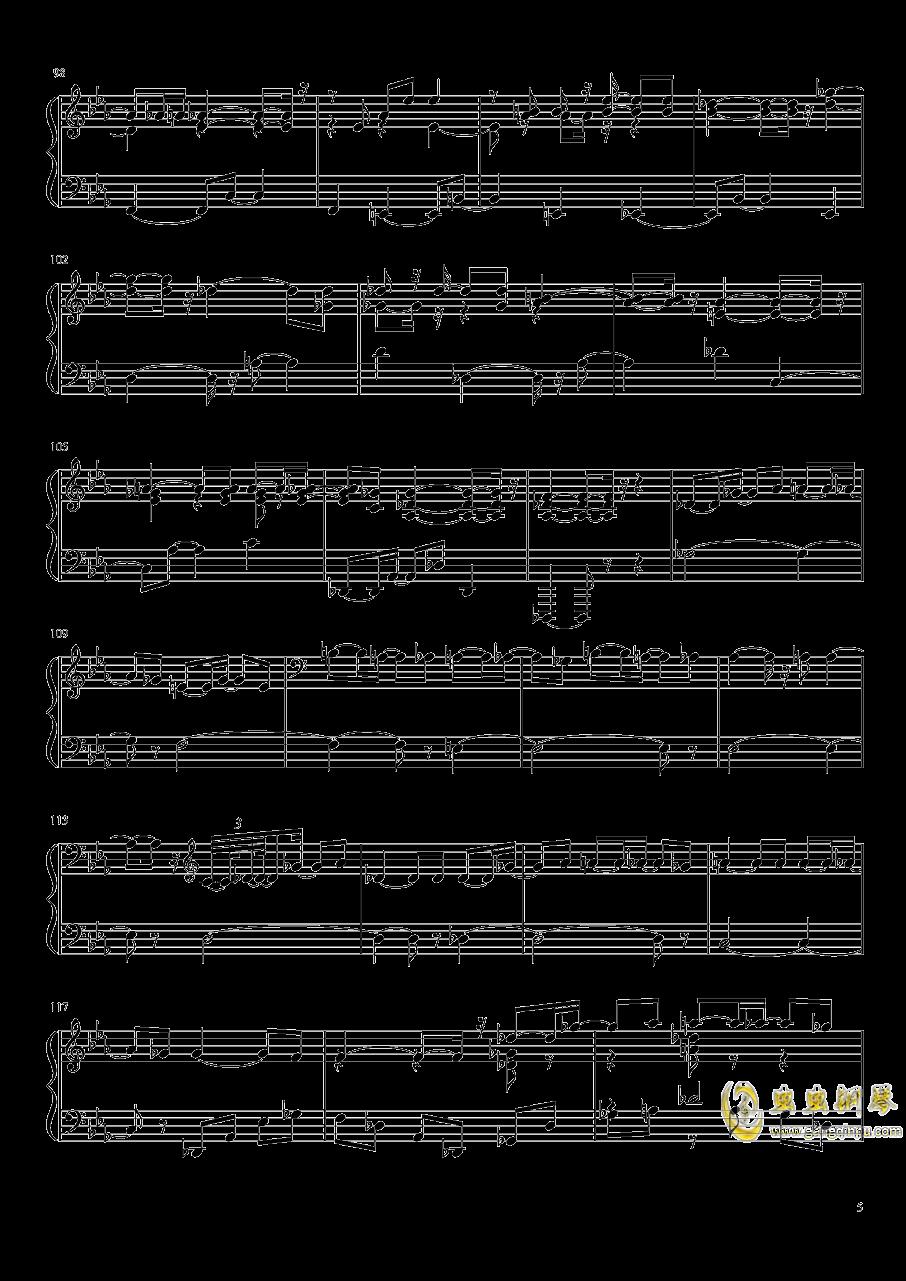 永夜变奏曲钢琴谱 第5页