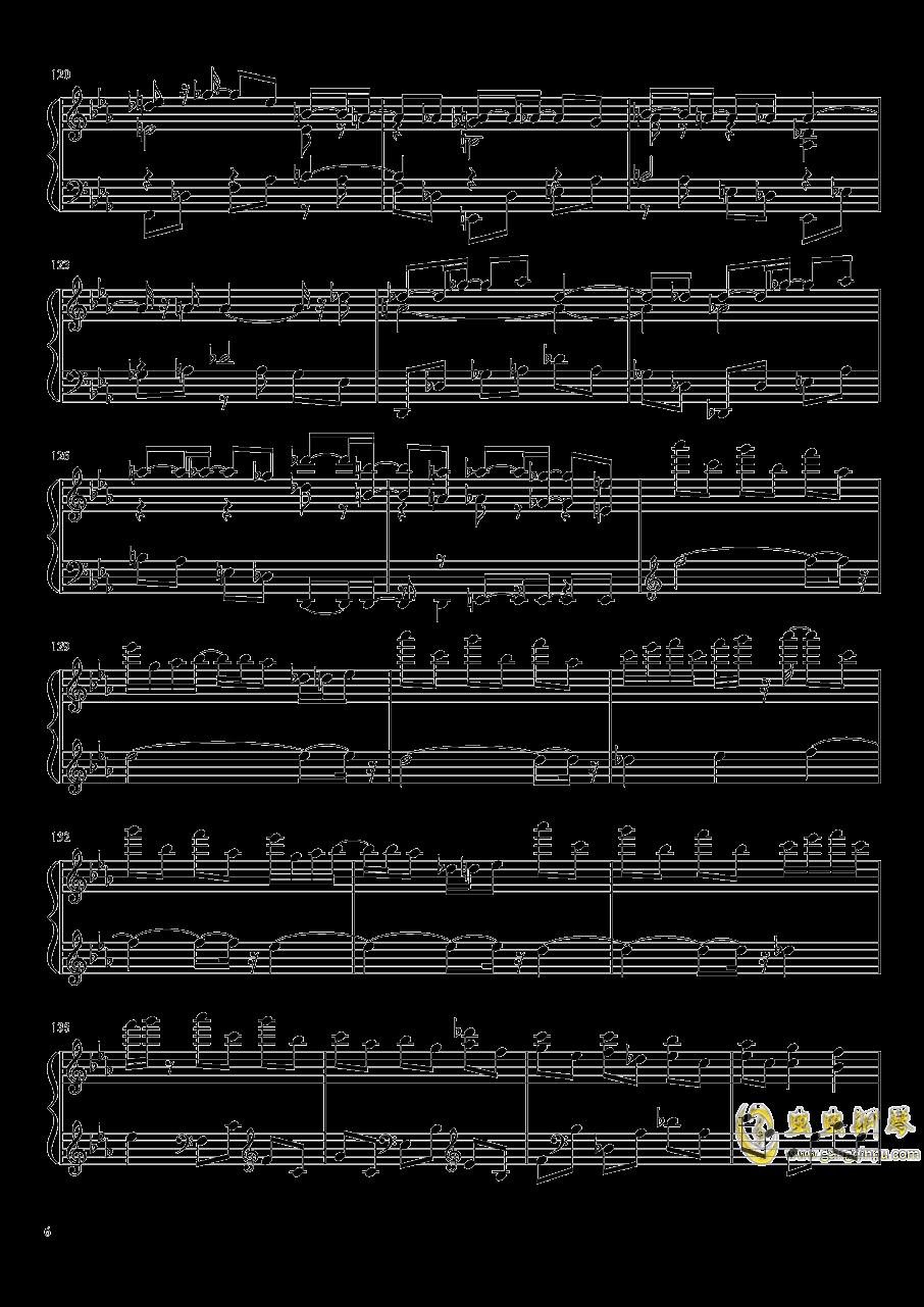 永夜变奏曲钢琴谱 第6页