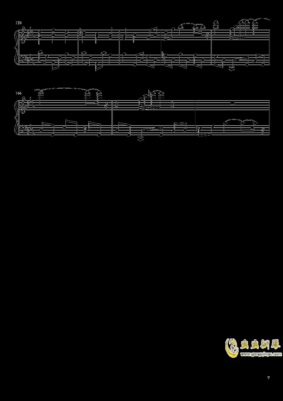 永夜变奏曲钢琴谱 第7页