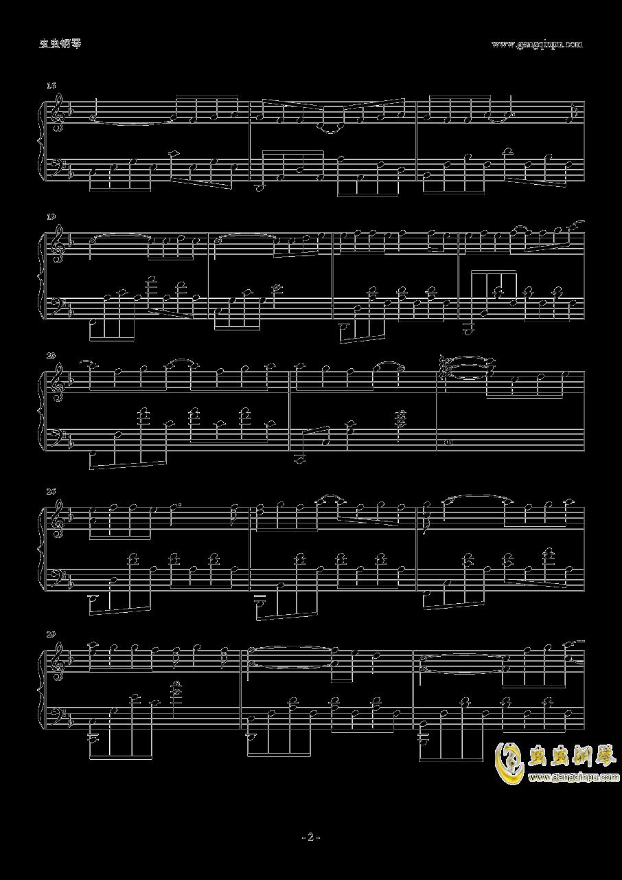 孩子钢琴谱 第2页