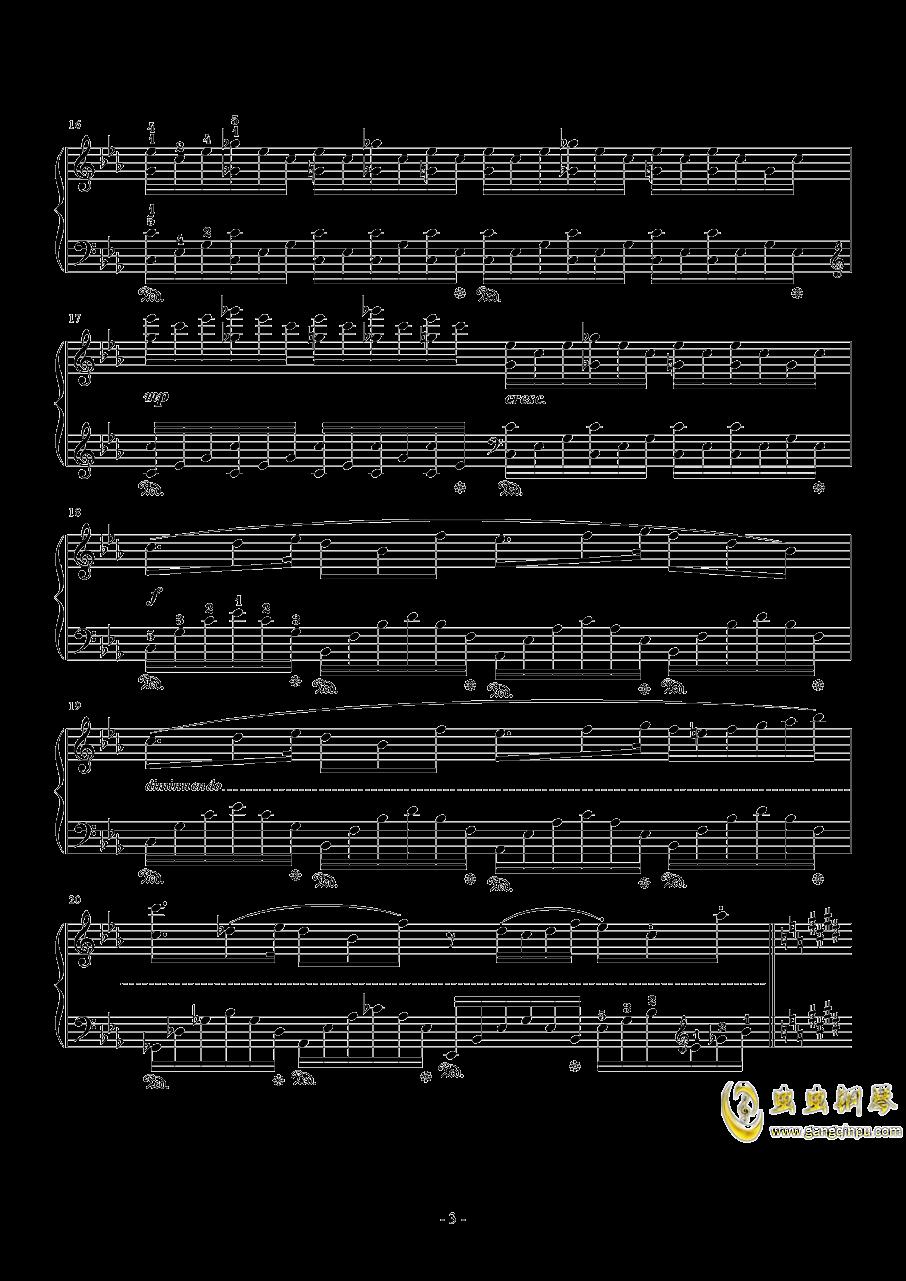 Hunter Chance钢琴谱 第3页