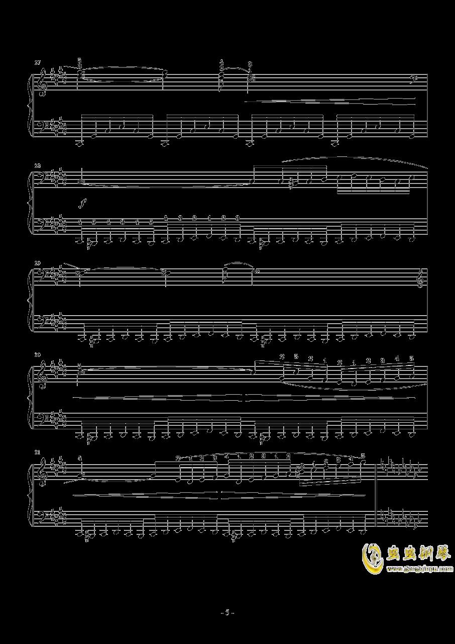 Hunter Chance钢琴谱 第5页