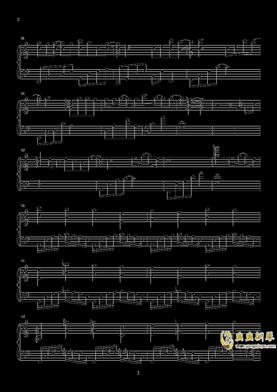时间有泪钢琴谱 第3页