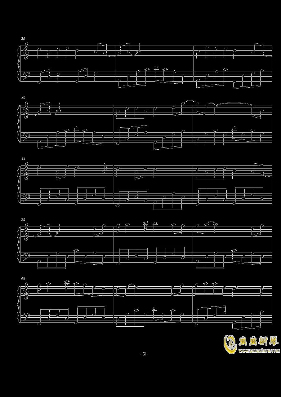 来生愿做一朵莲钢琴谱 第2页