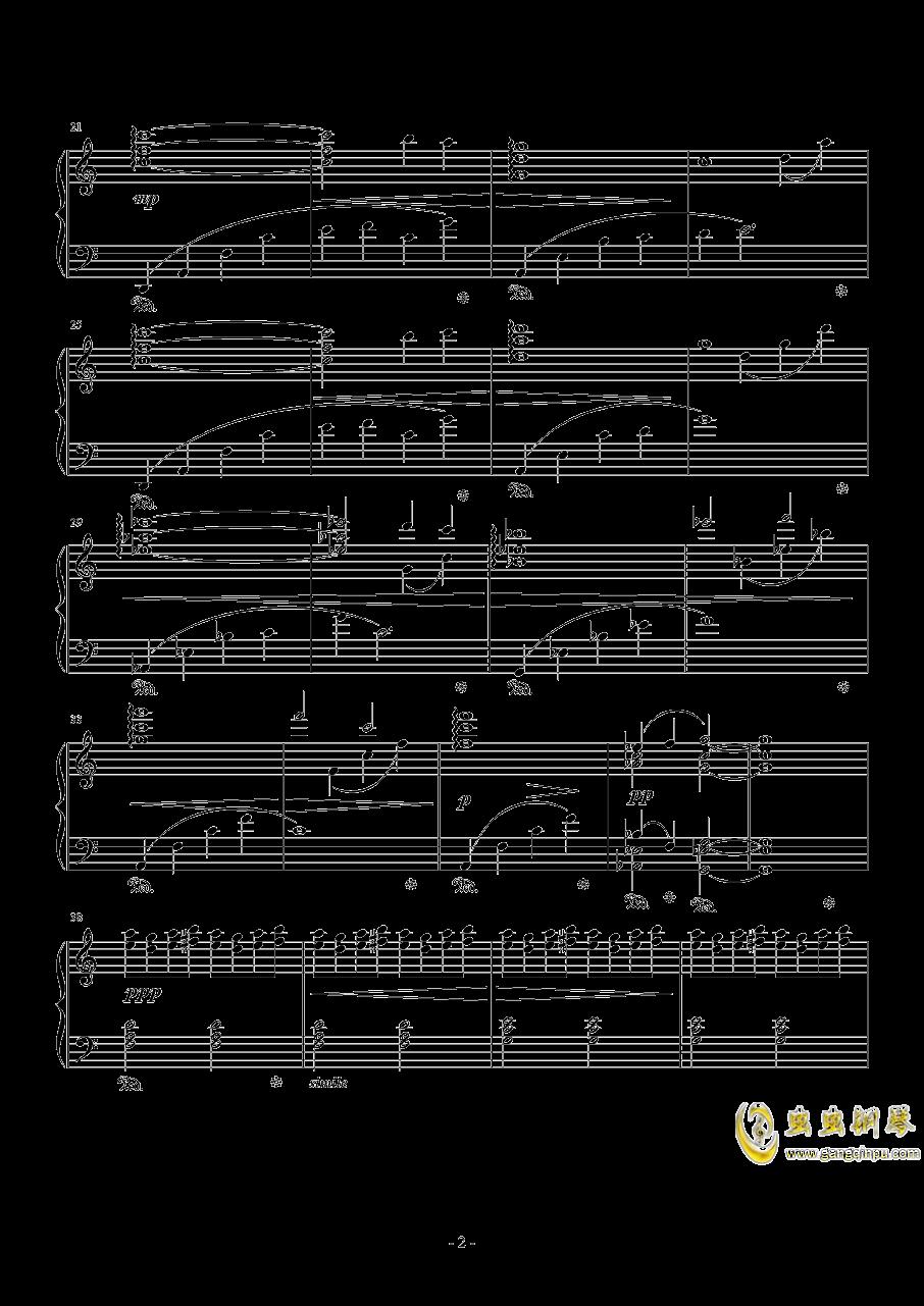 最终幻想13 新水晶神话钢琴谱 第2页