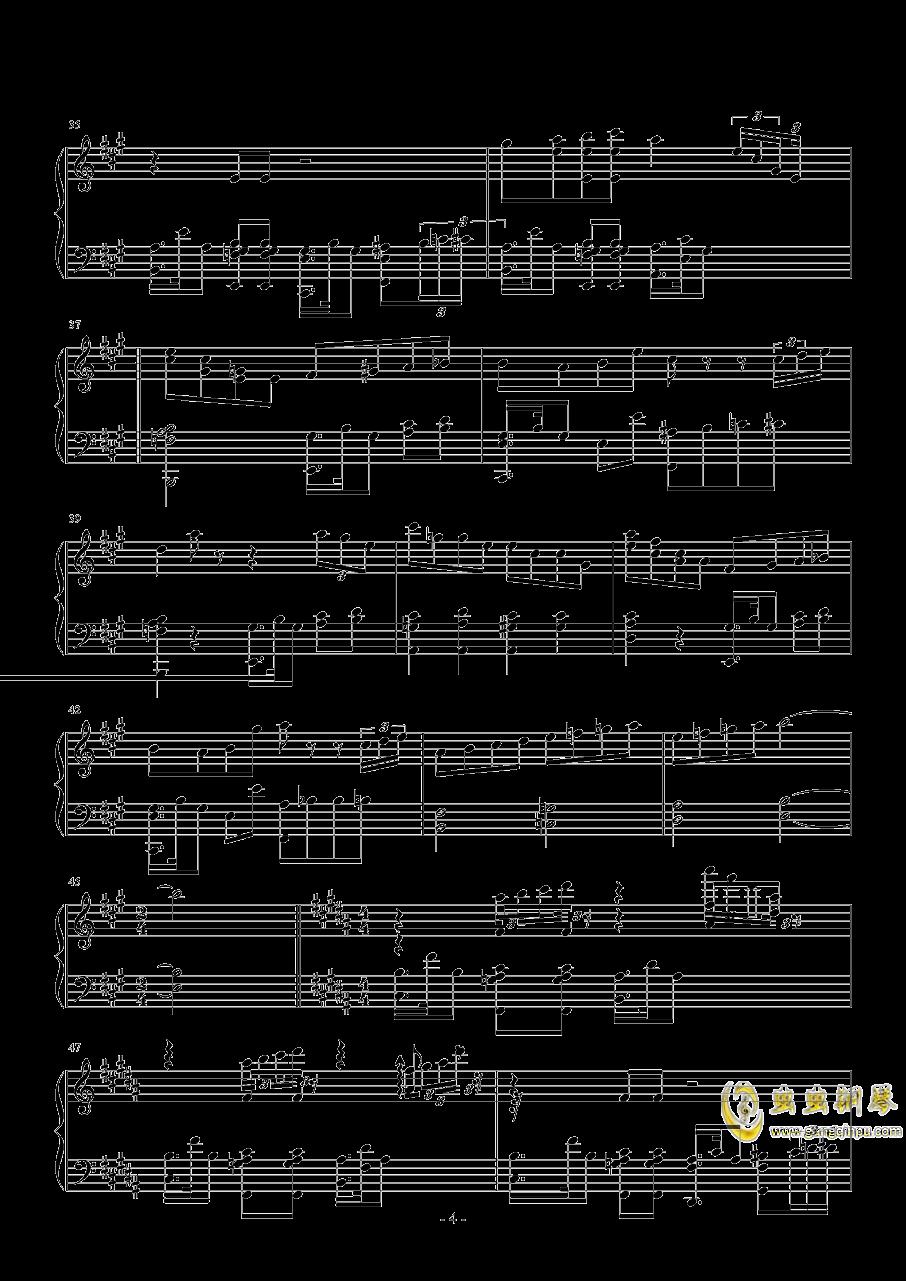 StRaNgE GiRl钢琴谱 第4页
