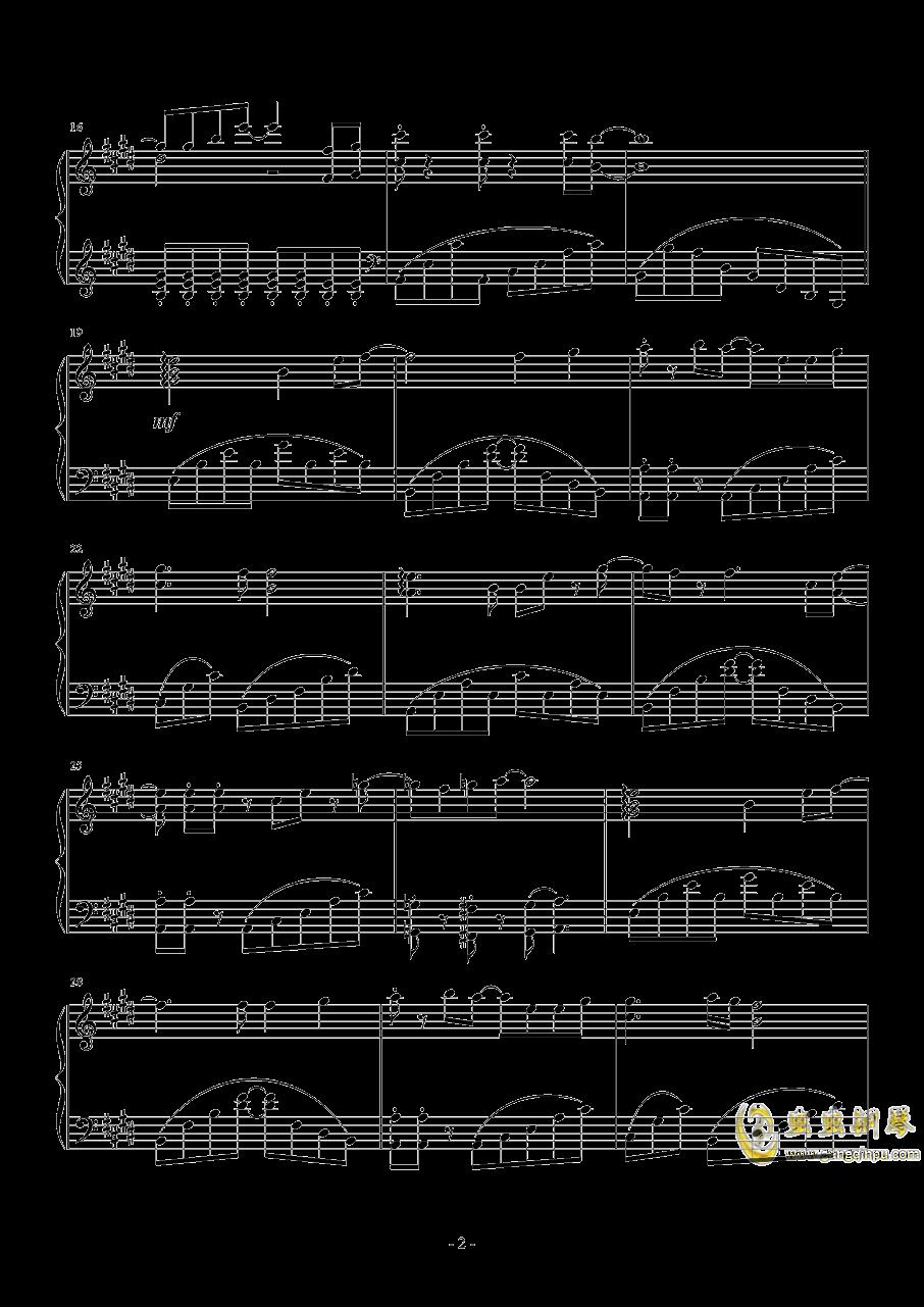 Comic Girls主题曲钢琴谱 第2页