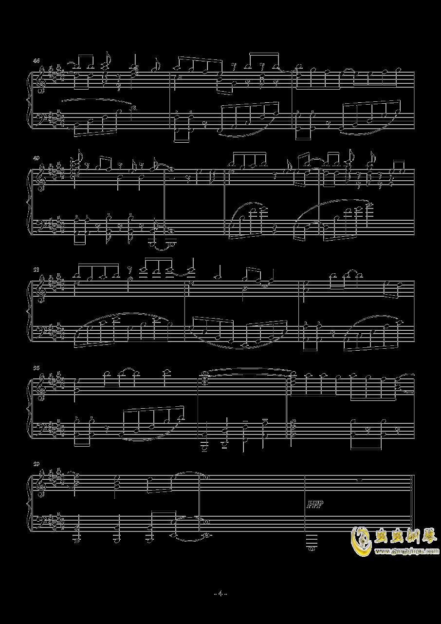 Comic Girls主题曲钢琴谱 第4页