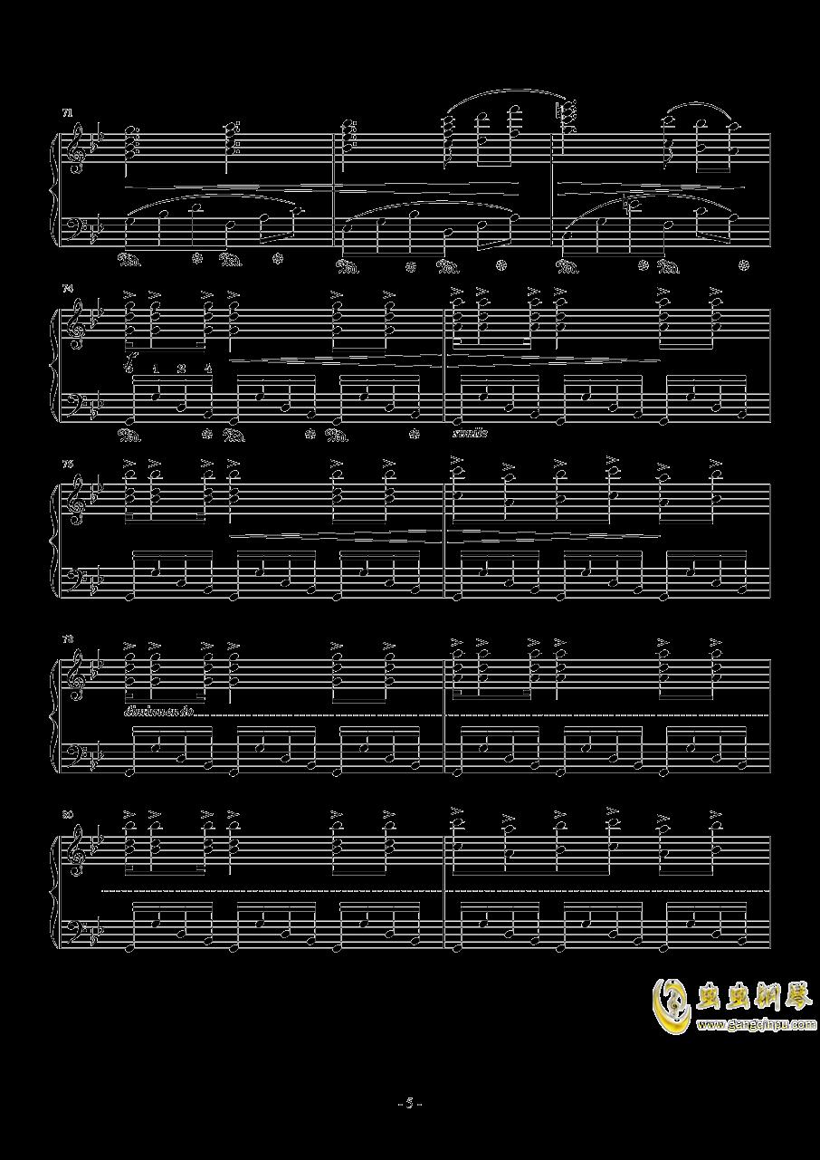 APOCALYPSIS NOCTIS钢琴谱 第5页