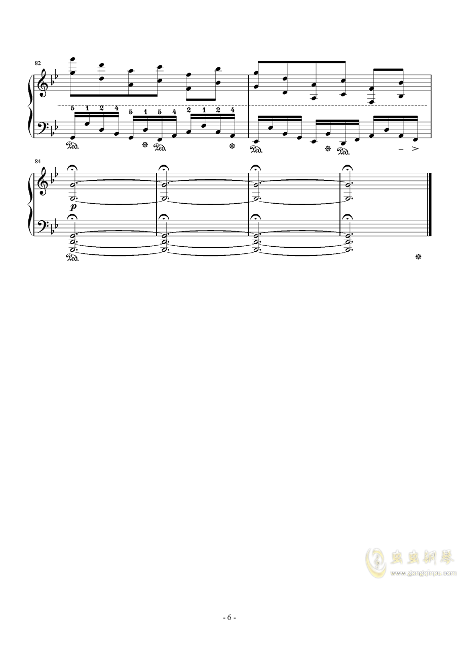 APOCALYPSIS NOCTIS钢琴谱 第6页