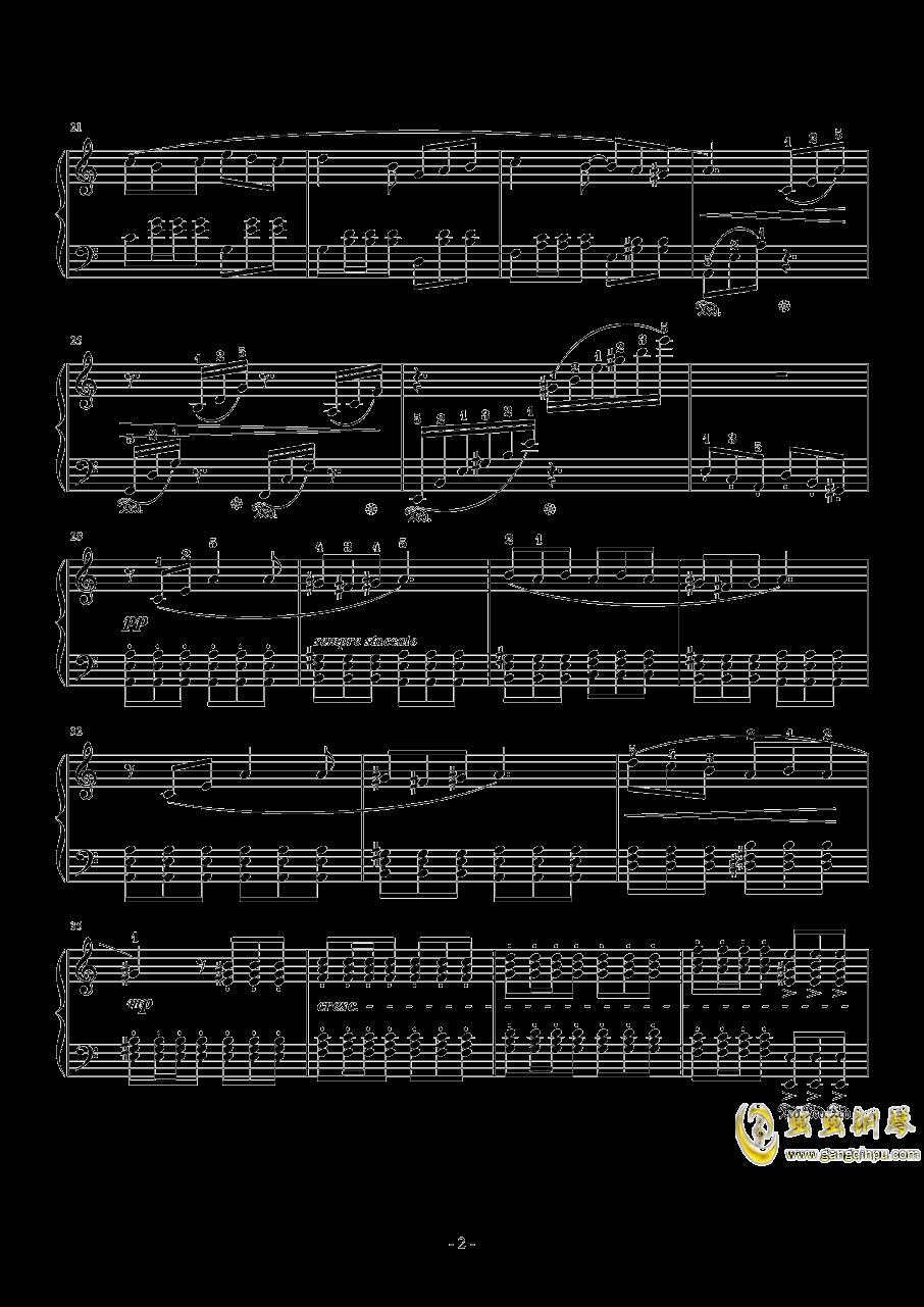 Vamo Alla Flamenco钢琴谱 第2页