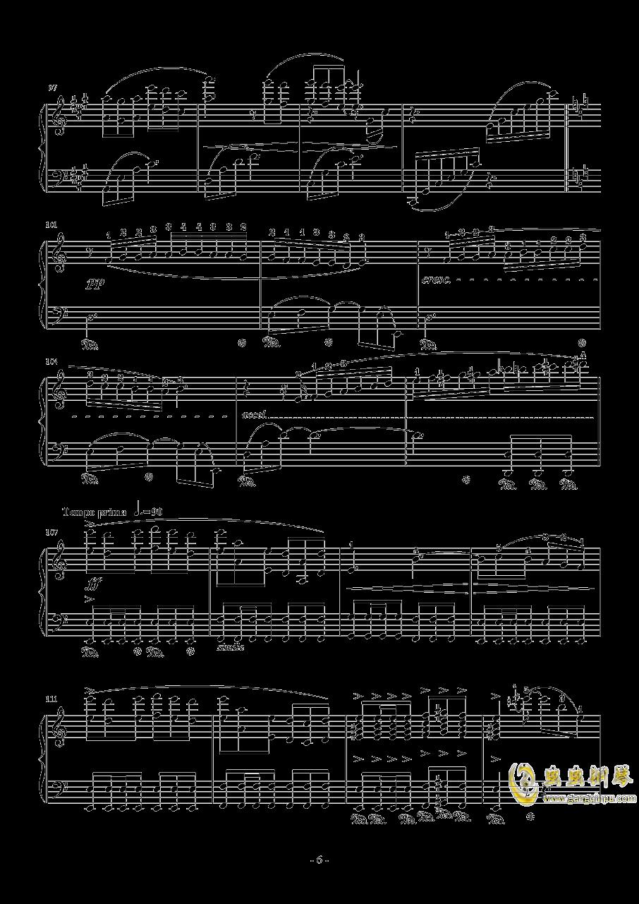 Vamo Alla Flamenco钢琴谱 第6页